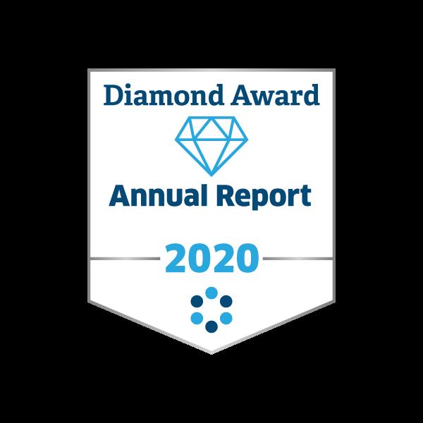 2020 Diamond Award for Annual Report