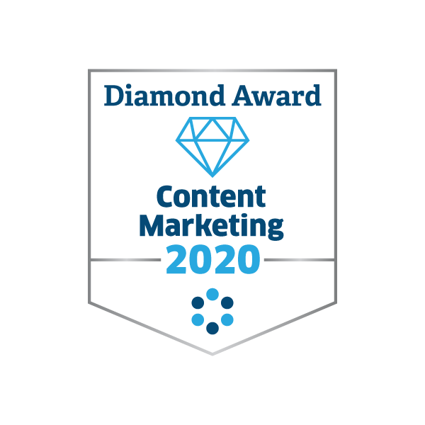 2020 Diamond Award for Content Marketing